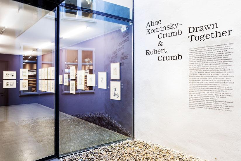Cartoon Crumb Ausstellung 01