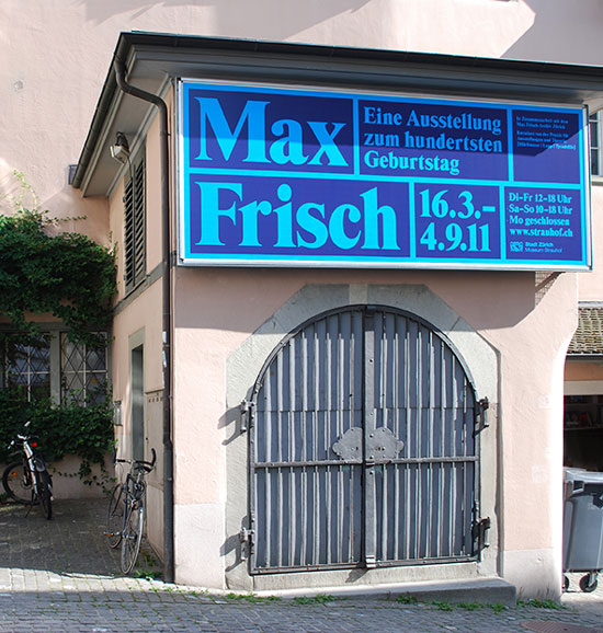 Max Frisch Ausstellung 1