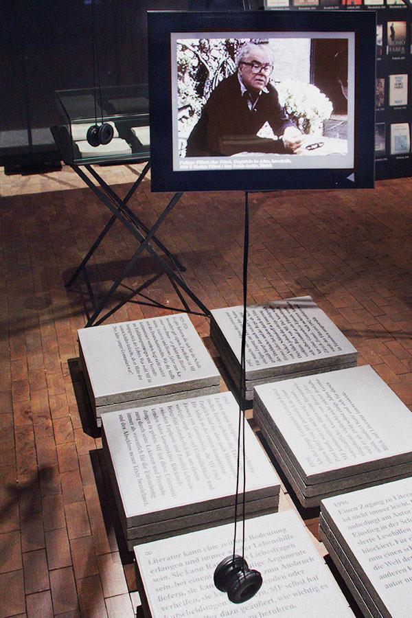 Max Frisch Ausstellung 2