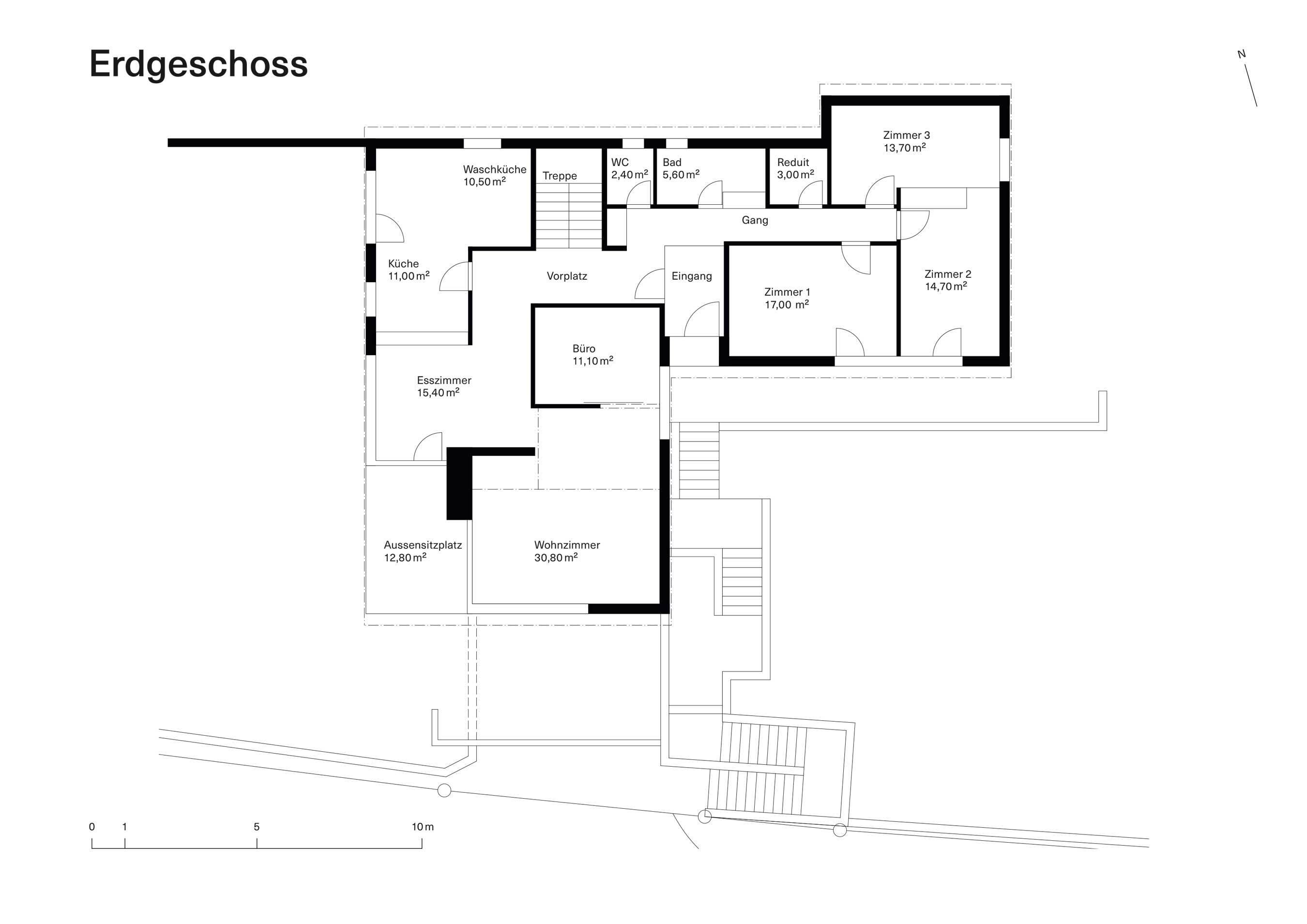 Vorstudie Bestand Erdgeschoss