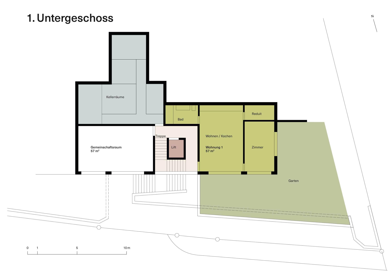 Vorstudie Neubau Untergeschoss1