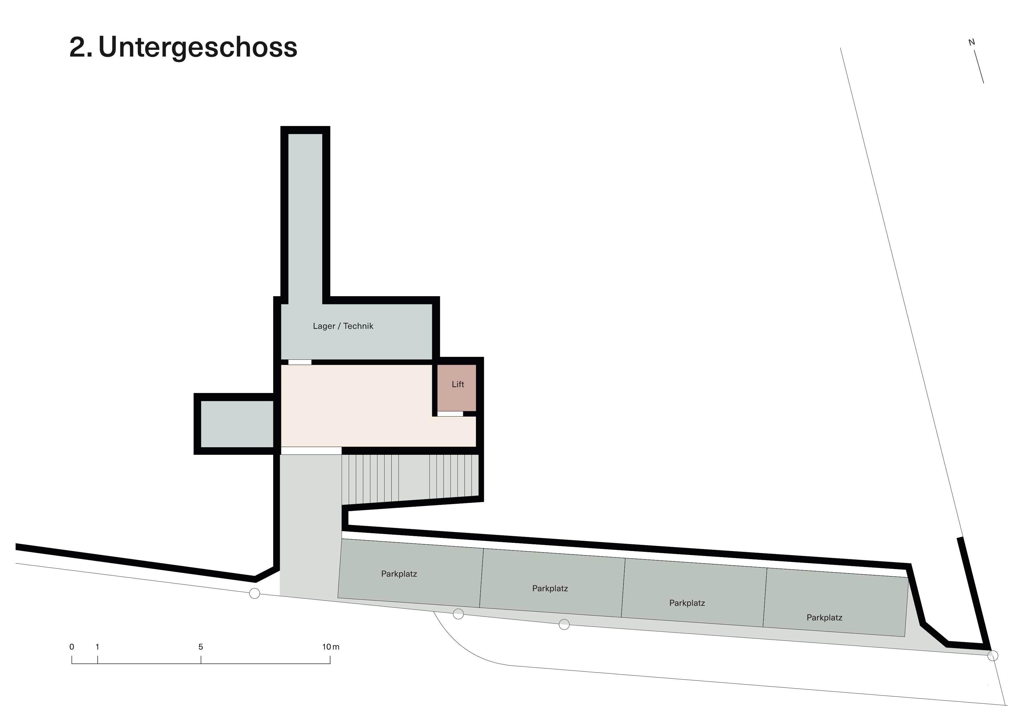 Vorstudie Neubau Untergeschoss2