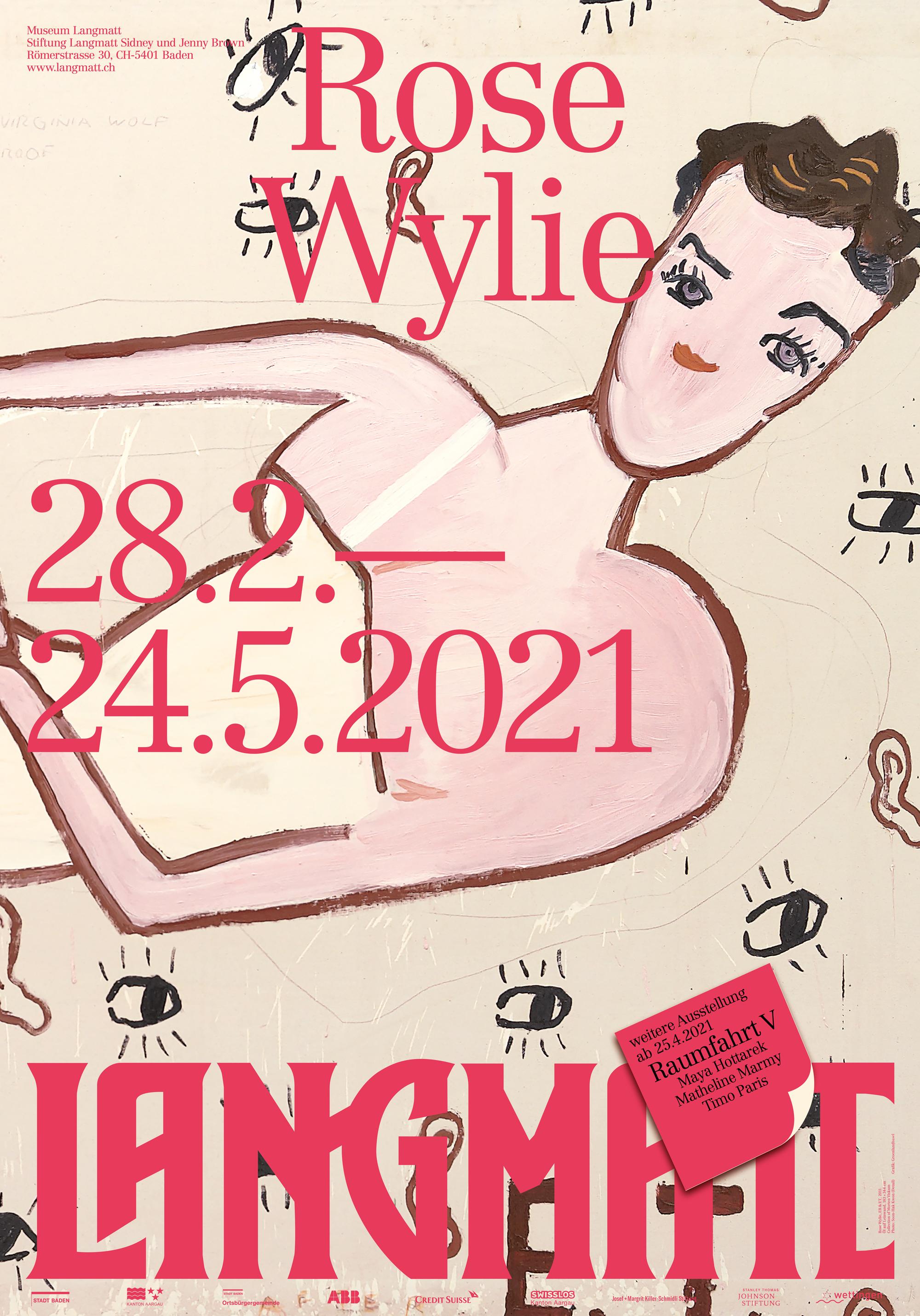 201222 Langmatt Rose Wylie Plakat F4 Rz Low