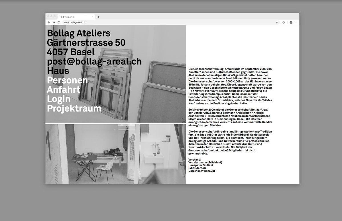 Bollag Website 3