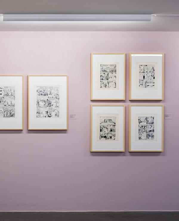 Cartoon Crumb Ausstellung 03