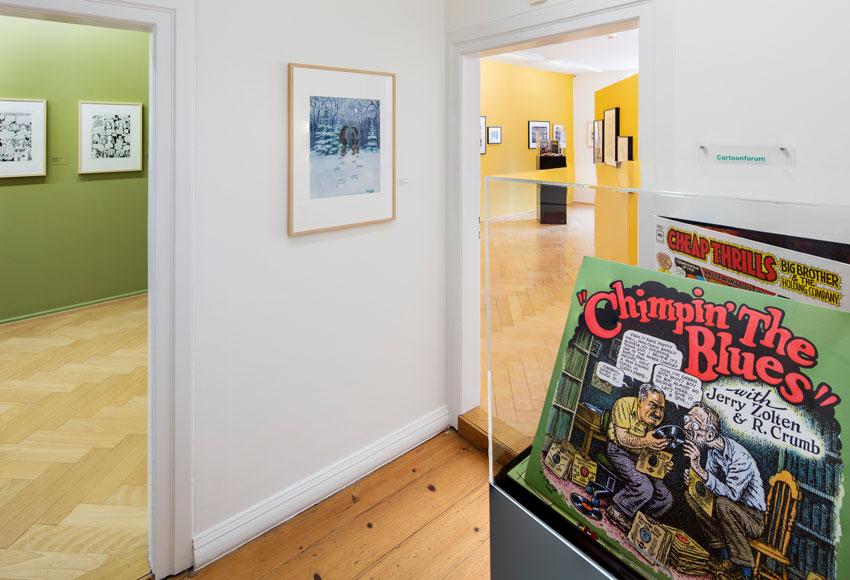 Cartoon Crumb Ausstellung 09