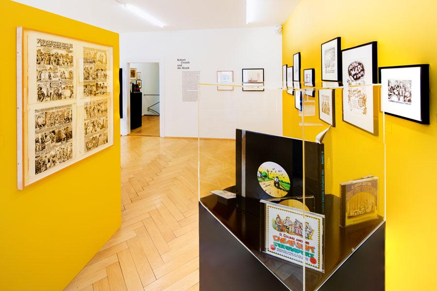 Cartoon Crumb Ausstellung 12