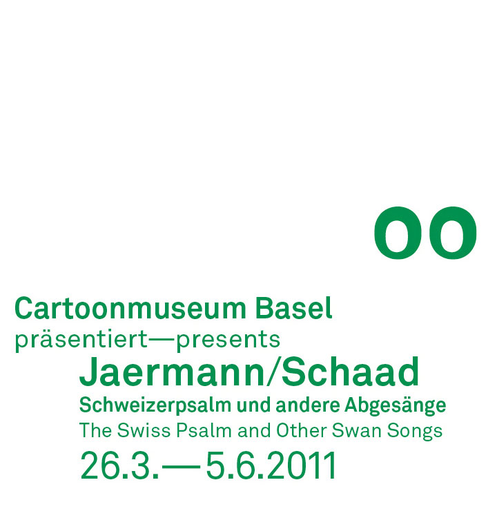 Cartoon Jaermann Schaad Stempel Weiss