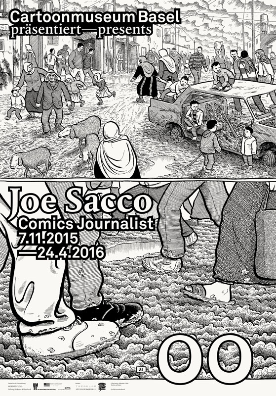 Cartoonmuseum Basel Joe Sacco F4 Web
