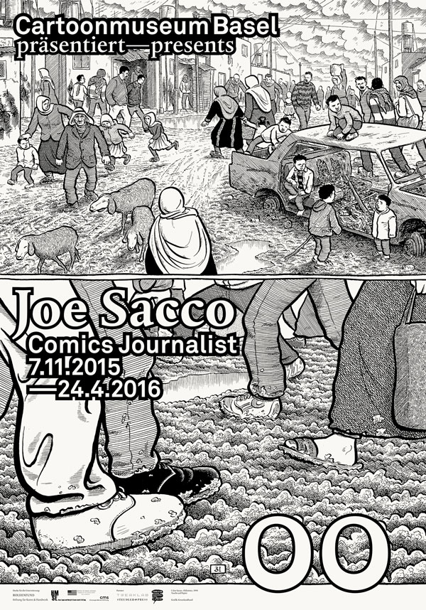 Cartoonmuseum Basel Joe Sacco F4 Web High Res