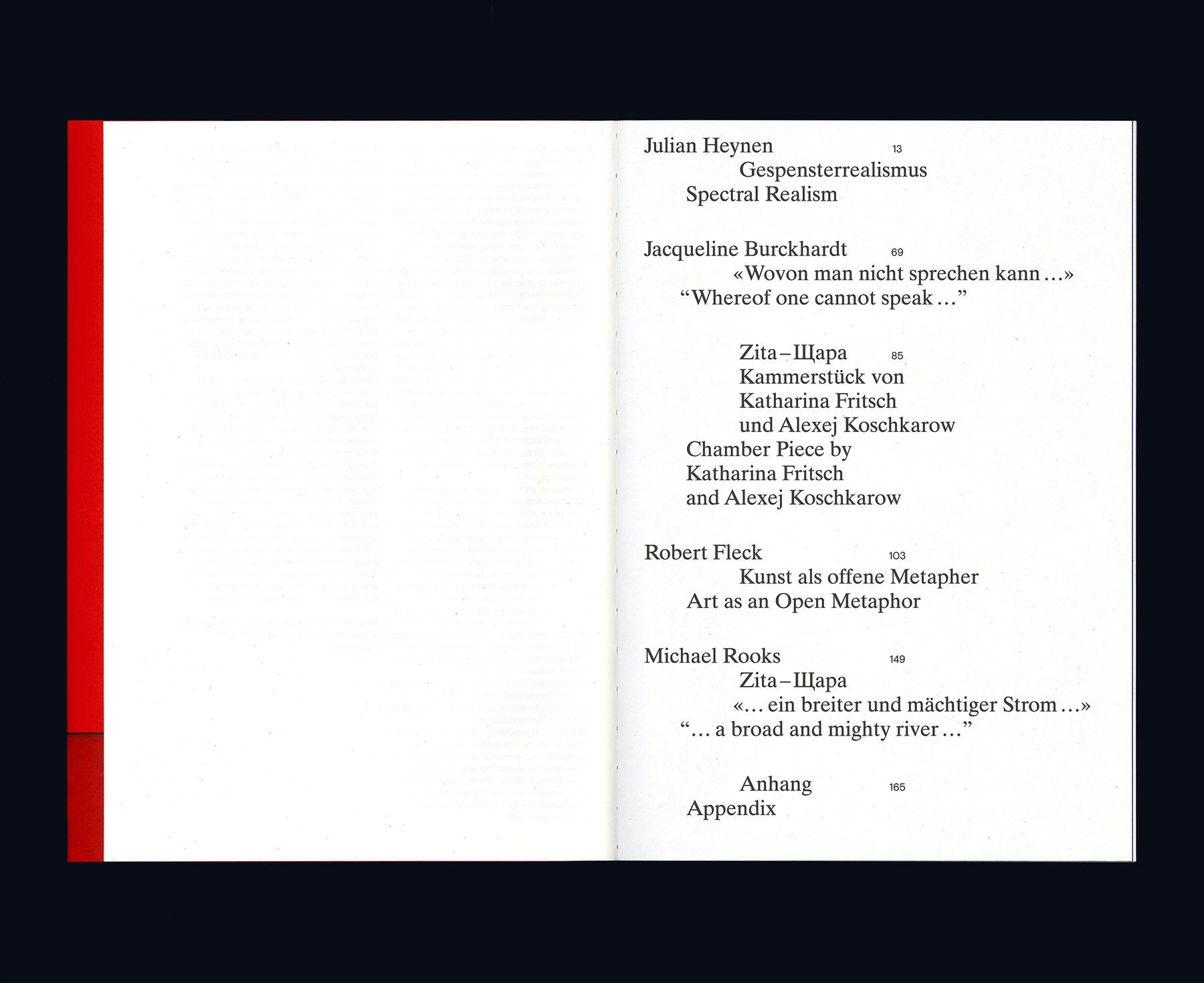 Kammerstueck Inhaltsverzeichnis