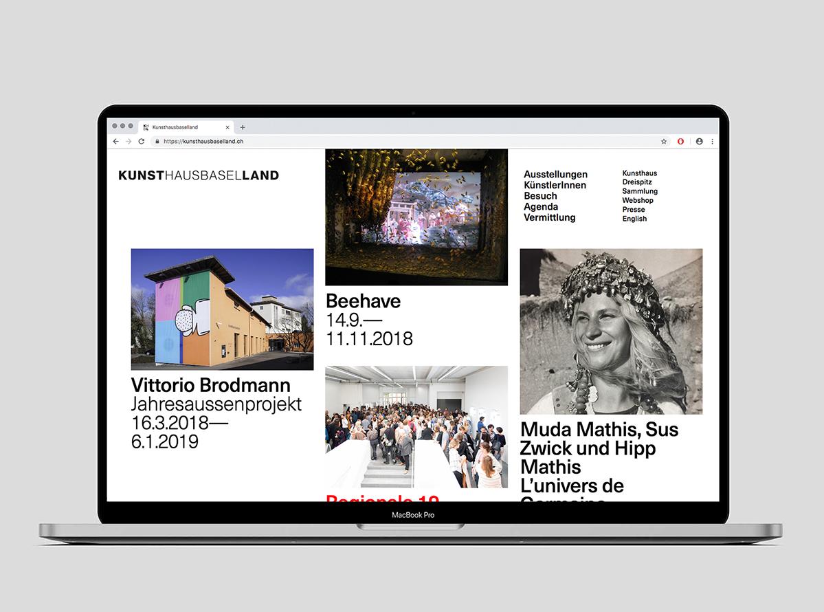 Kunsthaus Baselland Web 3