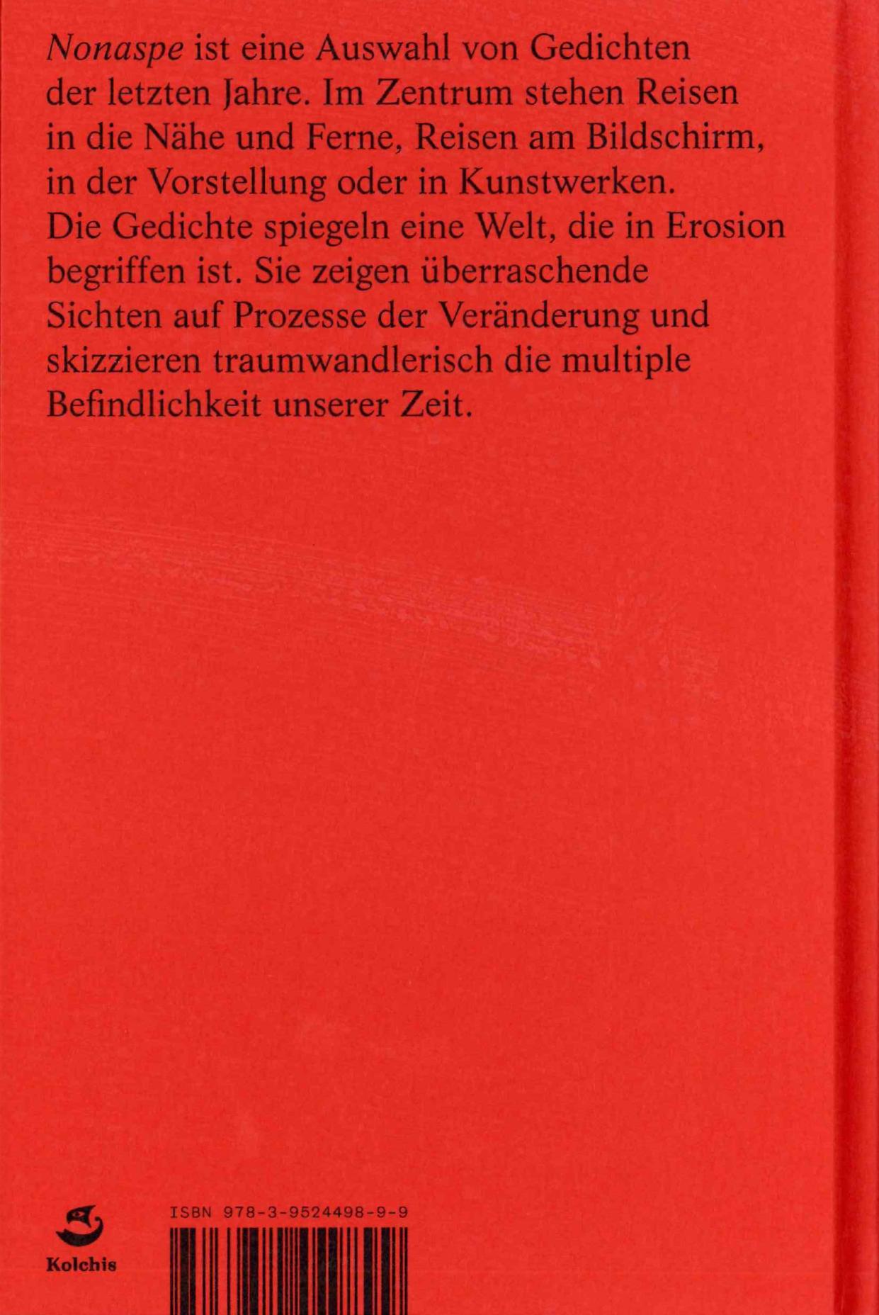 Markus Stegman Nonaspe Rückseite