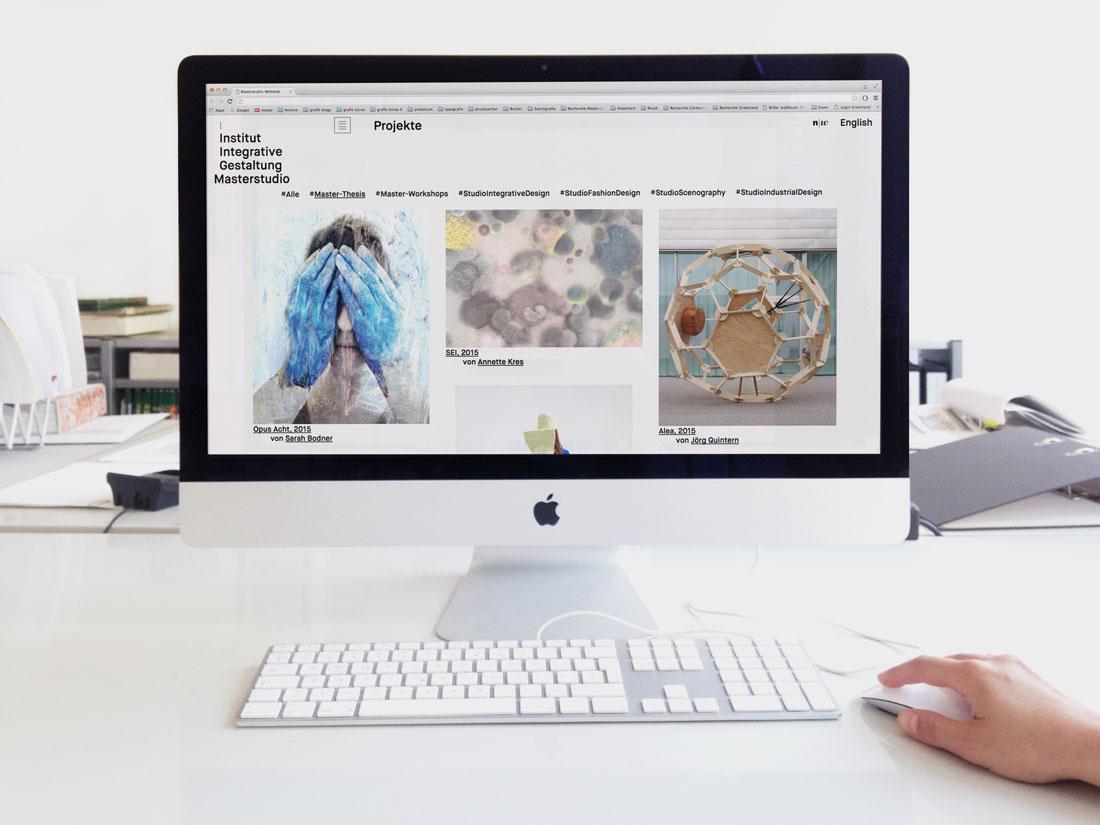 Masterstudio Webseite 0