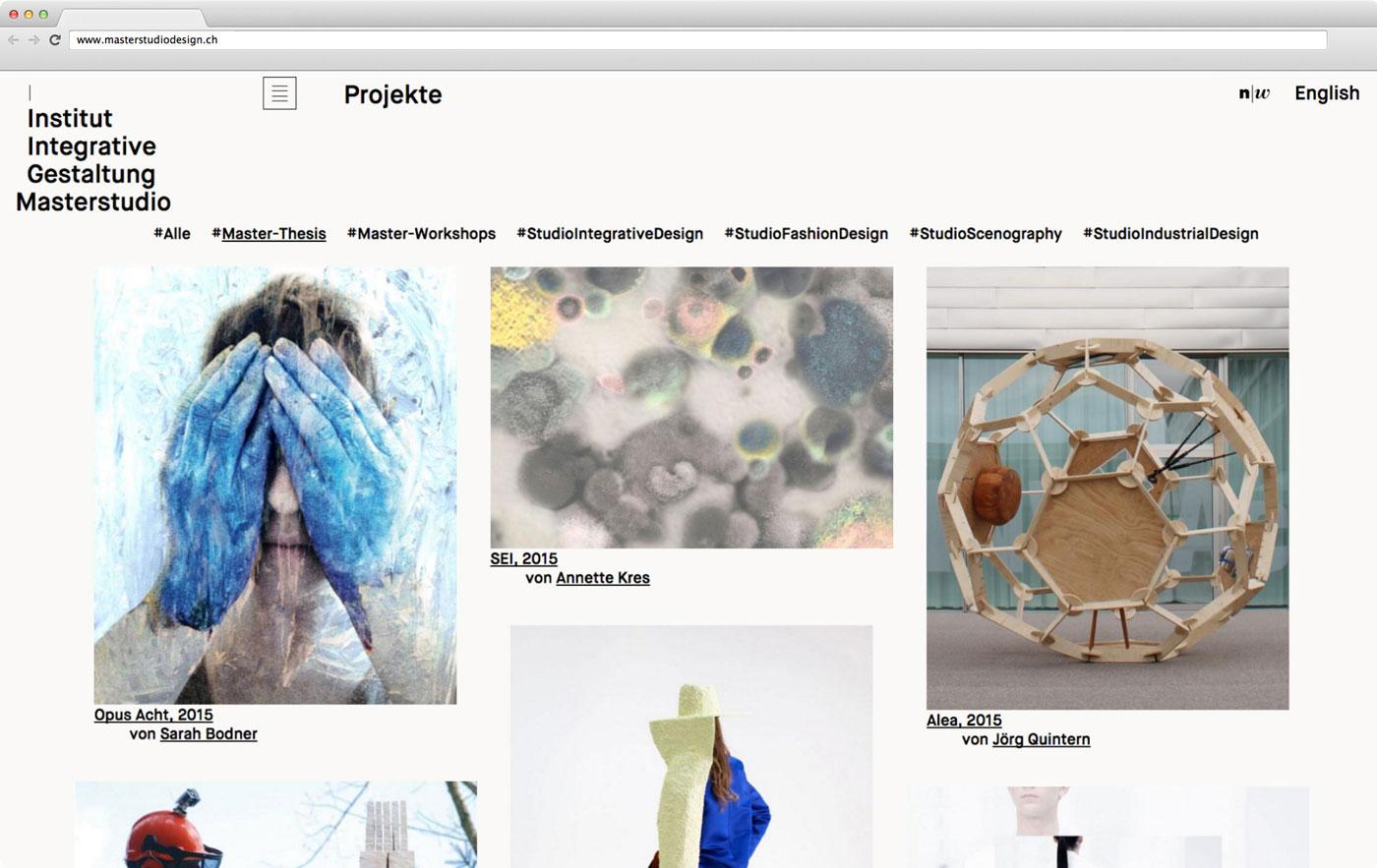 Masterstudio Webseite 03