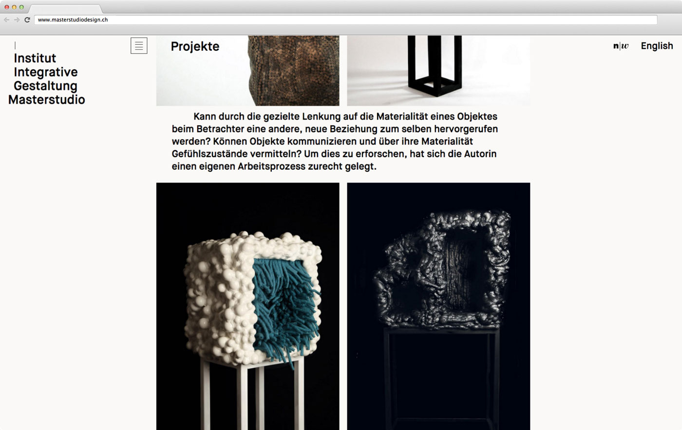 Masterstudio Webseite 04