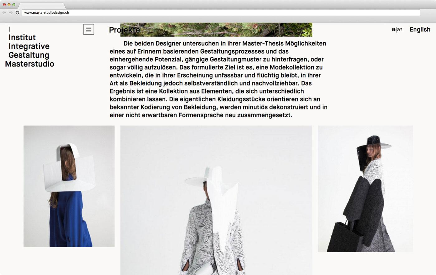 Masterstudio Webseite 05