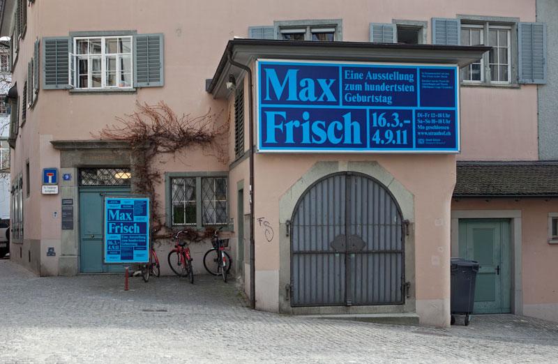 Max Frisch Fassade 1