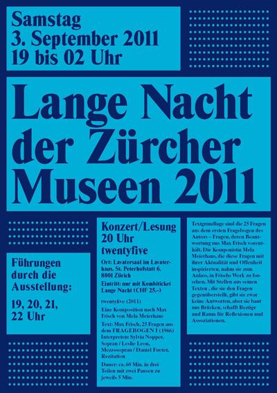 Max Frisch Plakat 04